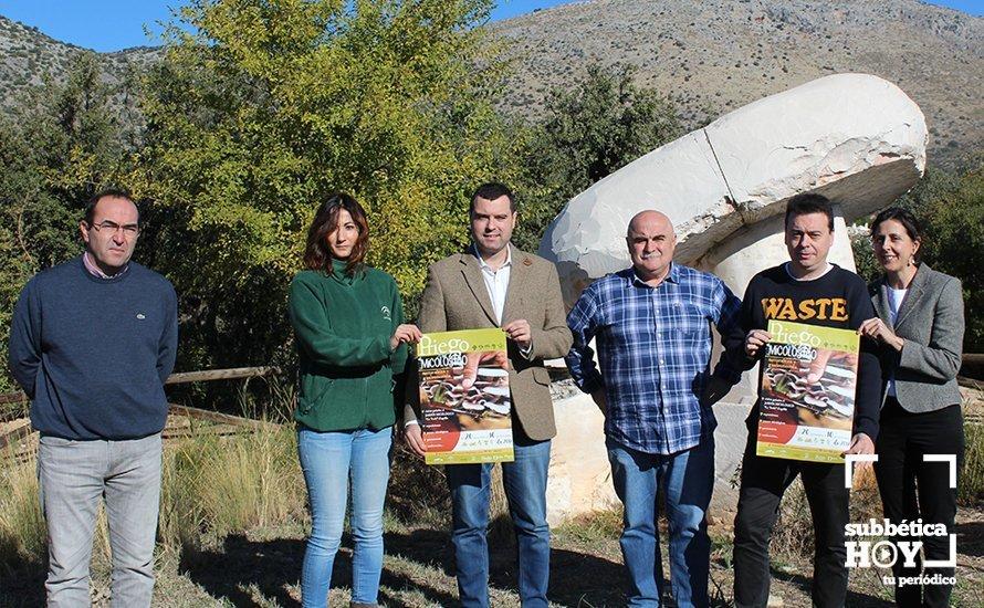 Priego presentada una nueva edici n de las jornadas for Jardin micologico la trufa