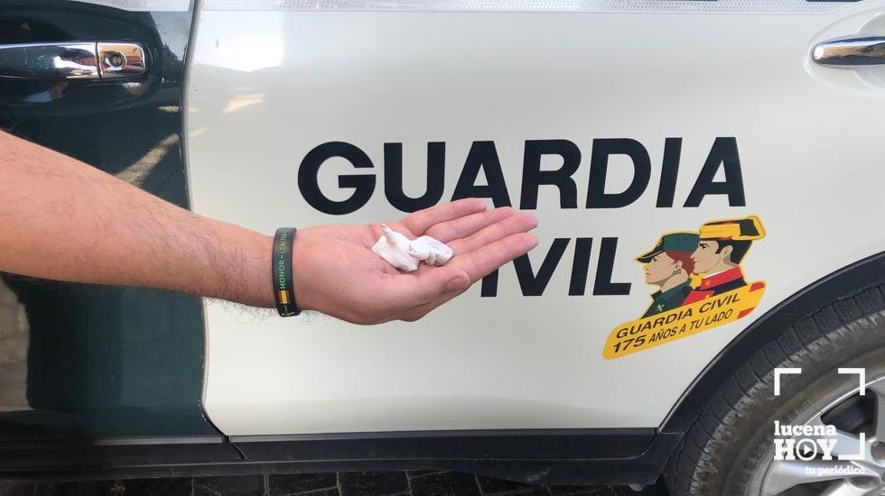 Sustancias intervenidas por la Guardia Civil